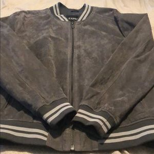 suede express jacket